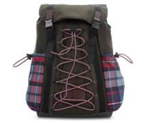 TH Hiking 17'' Laptop-Rucksack olivgrün