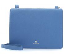 Ivy Schultertasche blau