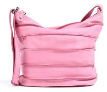 Bold Riffellinchen Umhängetasche pink