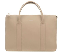 Leather Classic Alice Handtasche 13″ beige