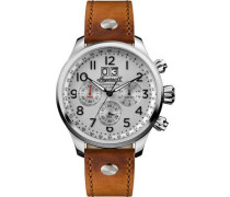 Discovery The Delta Chronograph silber