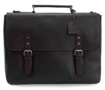 Dakota 13'' Aktentasche mit Laptopfach braun
