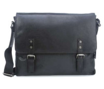 Newport L 14'' Laptop Messenger schwarz