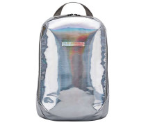 Gion S Laptop-Rucksack silber/mehrfarbig