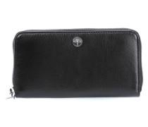 Soft Leather Melete Geldbörse Damen schwarz