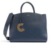 Concrete Handtasche dunkelblau