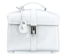 Suzanne Ecoleather Smooth Handtasche metallic
