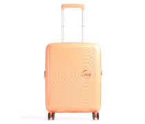 Soundbox 4-Rollen Trolley apricot 55