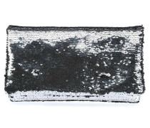 Sequins Clutch silber