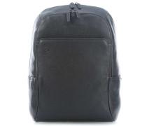 Black Square Laptop-Rucksack 14″