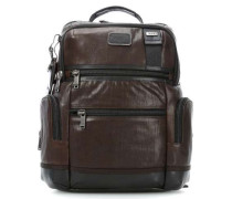 Bravo Leather 14'' Laptop-Rucksack