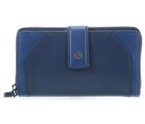 Muse RFID Geldbörse Damen dunkelblau