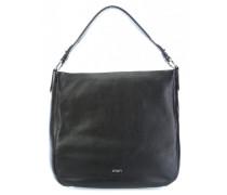 Soft Leather Dina Beuteltasche schwarz