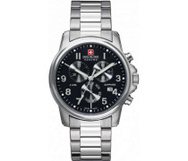 Swiss Soldier Chrono Prime Chronograph silber