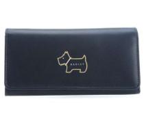 Heritage Dog Outline Geldbörse Damen dunkelblau
