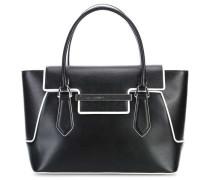 Saint James Handtasche schwarz weiß