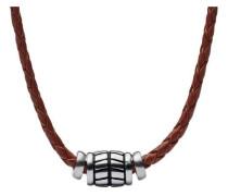 Mens Vintage Casual Halskette braun