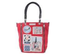 Iris In Paris Handtasche rot