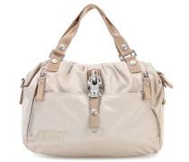 Basic Nylon Cotton Candy Handtasche beige