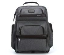 Alpha Ballistic Business T-Pass 15'' Laptop-Rucksack stein