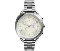 Accomplice Hybrid-Smartwatch silber
