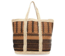 Equateur Shopper braun
