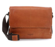 Grinta 13'' Laptop Messenger cognac