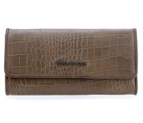 Wallet Easy - Croco Geldbörse Damen stein