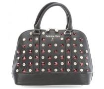 Crystal Polished Studs Handtasche schwarz