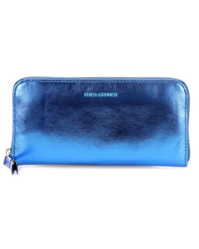 Tawny Geldbörse blau metallic