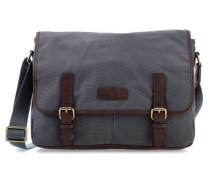 Graham 15'' Laptop Messenger grau