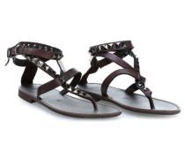 Sandals Schuhe dunkelbraun