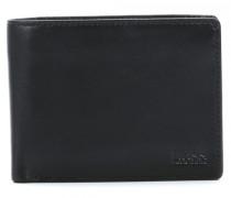 Leather Small Arezzo Geldbörse Herren schwarz