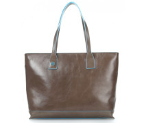 Blue Square 10'' Handtasche