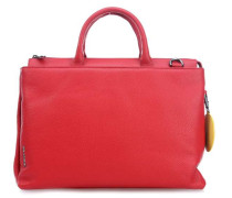 Mellow Leather Handtasche rot