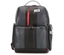 Urban Laptop-Rucksack 15″ schwarz/grau