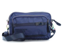 Nylon Love Letters Schultertasche navy