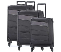 Kite Set 15'' Trolley-Set schwarz