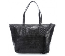 The GINA Rockadile Cyperspeed Handtasche schwarz