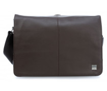 Brompton Bungo 15'' Laptop Messenger braun