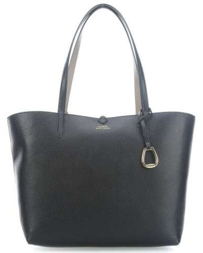 Reversible Shopper schwarz/beige