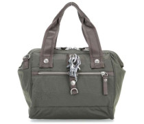 Nylon Frameboy Handtasche olivgrün