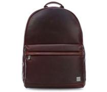 Barbican Albion 15'' Laptop-Rucksack dunkelbraun