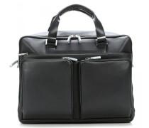 Shyrt-Leather 15'' Aktentasche mit Laptopfach schwarz