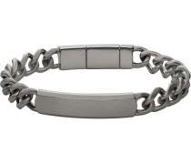 Men's Dress Armband silber