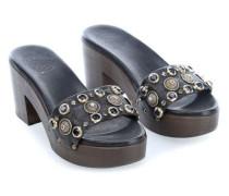 Clog 38 Schuhe schwarz