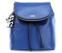 Choupette at the beach Rucksack blau