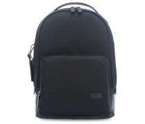 Harrison Nylon Webster Laptop-Rucksack schwarz