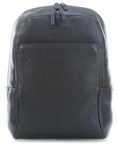 Piquadro Damen Black Square Laptop-Rucksack 14�?schwarz