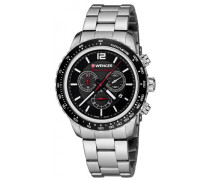 Roadster Black Night Chrono Chronograph silber